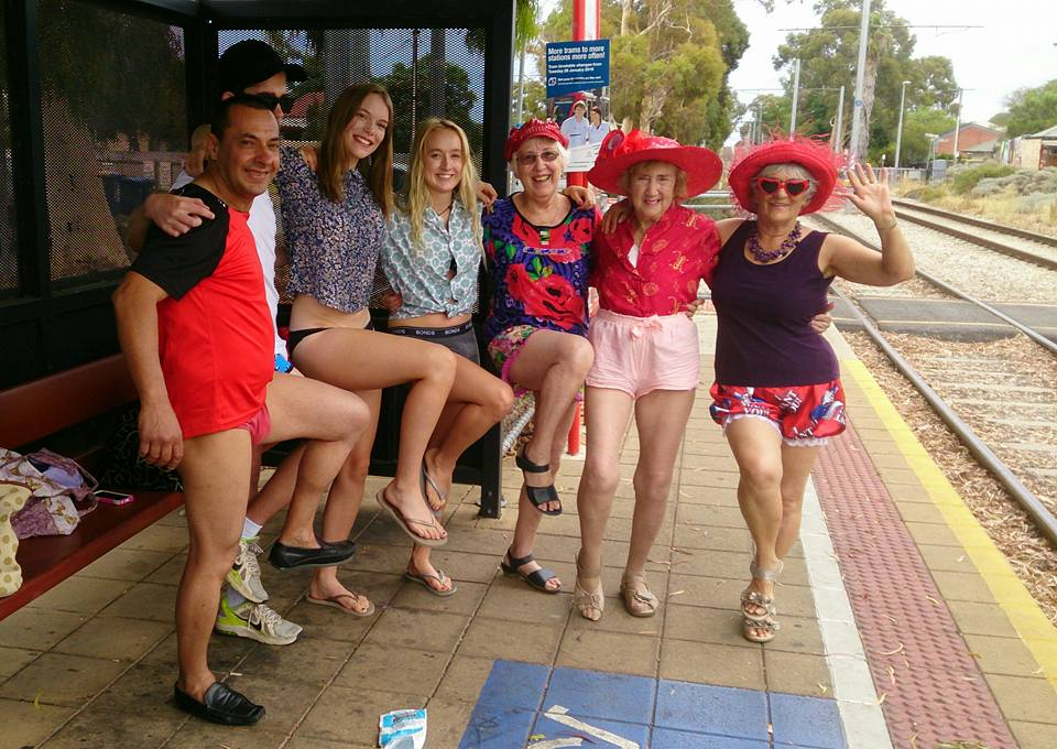 No Pants Tram Ride Adelaide 2016